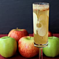 Apple Bourbon Bellini Recipe
