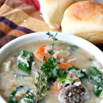Chicken-Chickpea-Potato Soup