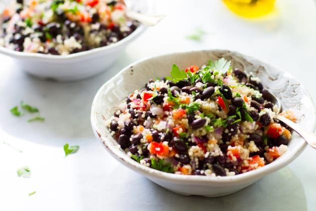 Black Bean Couscous Salad Photo