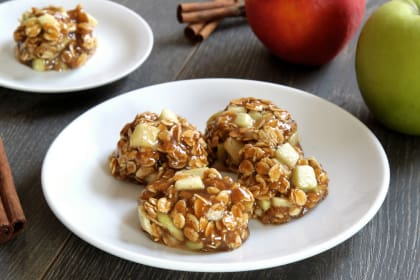 Gluten Free Apple Cardamom Cookies
