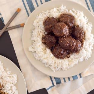 Instant pot gluten free teriyaki meatballs photo