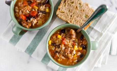 Southwest Chorizo Soup