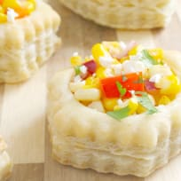 Mexican Corn Pastry Cups Recipe