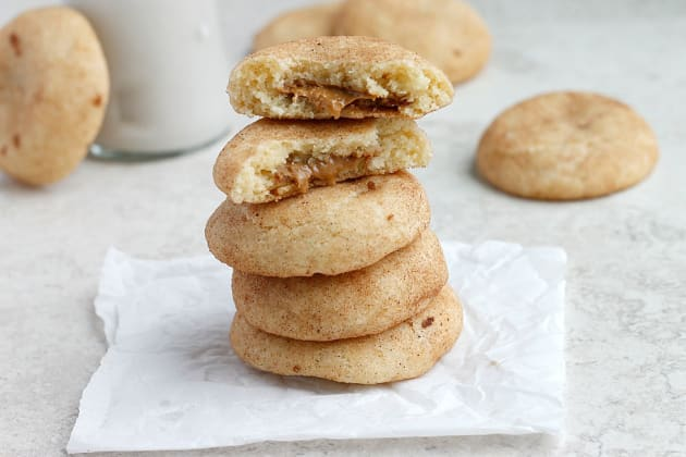 Biscoff Stuffed Vanilla Bean Snickerdoodles Photo