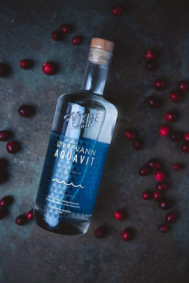 Cranberry Aquavit Cocktail Picture