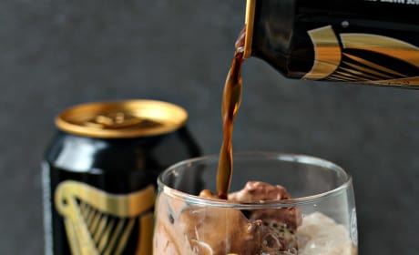 Chocolate Guinness Float Image