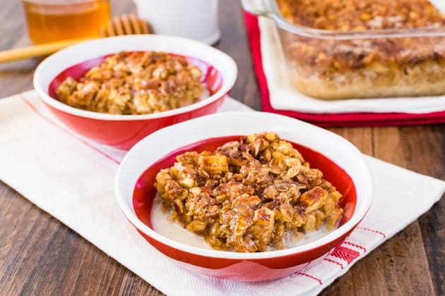 Cinnamon Apple Baked Oatmeal Photo