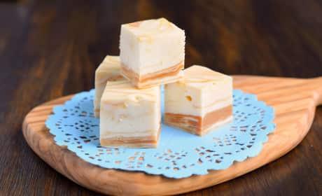 White Chocolate Caramel Fudge Recipe