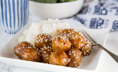 Kung Pao Chicken Meatballs Photo