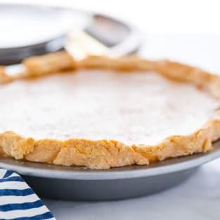 Gluten free pumpkin pie photo