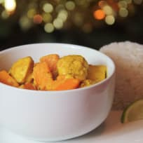Turkey and Sweet Potato Thai Curry