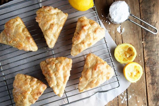 柠檬奶油烤饼食谱