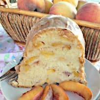 Peaches 'n Cream Pound Cake
