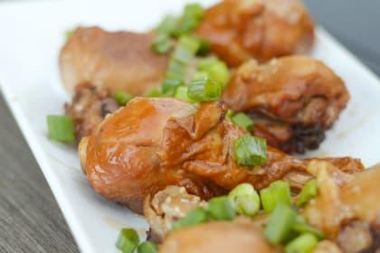 Gluten Free Instant Pot Teriyaki Chicken Drumsticks