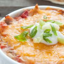 King Ranch Chicken for Two Recipe