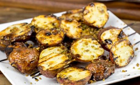 Garlic Rosemary Grilled Potatoes Recipe