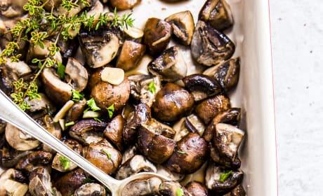 Garlic Butter Baked Mushrooms Pic