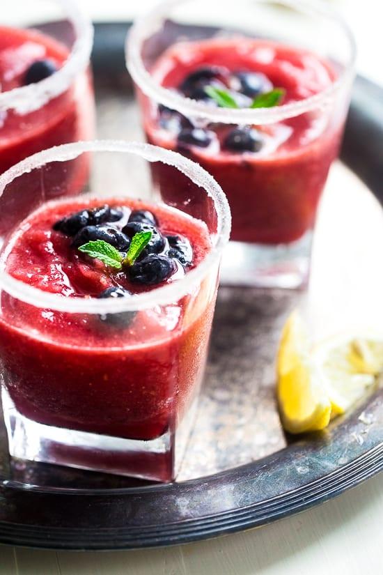 Raspberry Mojito Pic