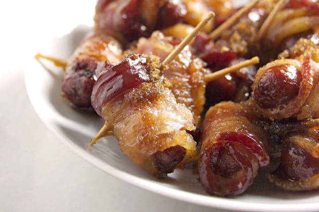 Bacon-Wrapped Smokies Image