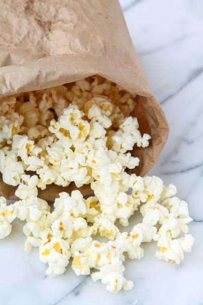 Homemade Microwave Popcorn Image