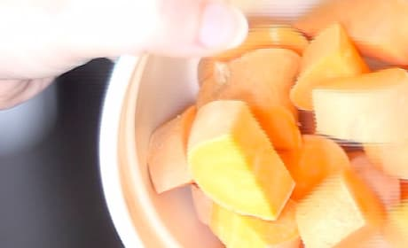 Parboiled Sweet Potatoes Picture
