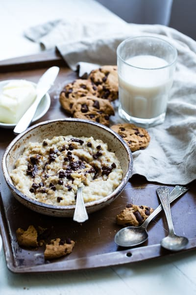 File 2 Cookie Dough Protein Oatmeal