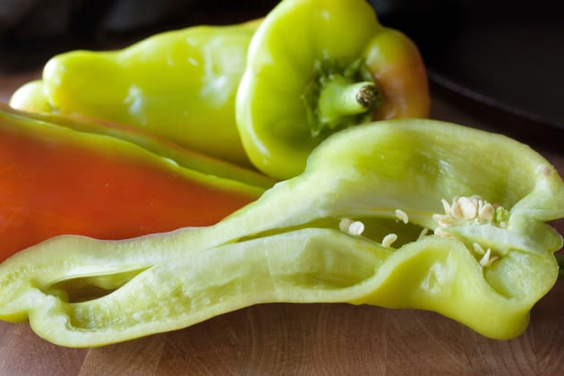 Charred Peppers Picture