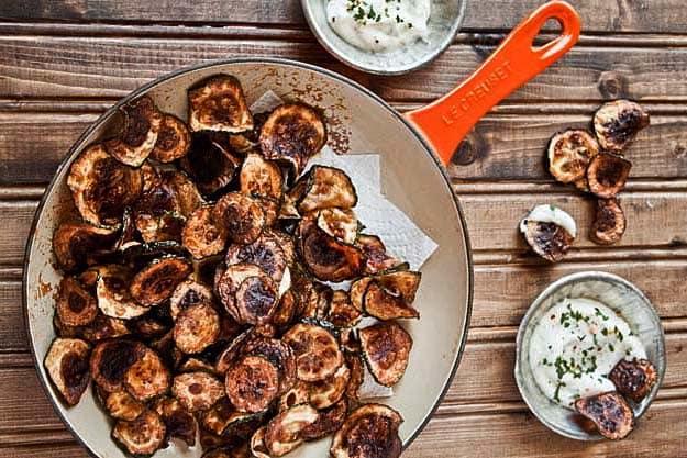Zucchini Chips Photo