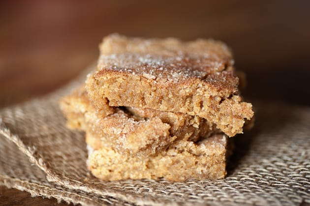Snickerdoodle Bars Picture