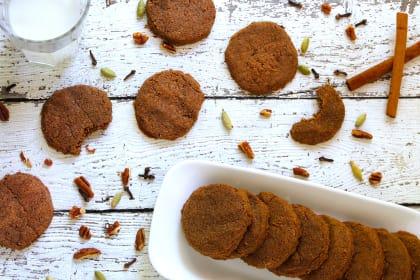 Gluten Free Spiced Pecan Cookies