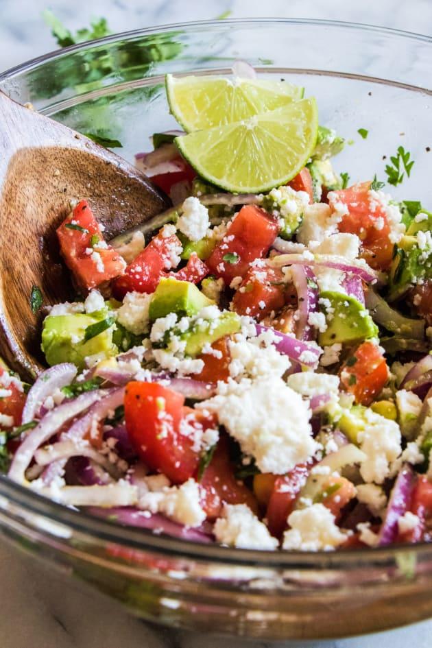 Cilantro Tomato Avocado Salad Picture
