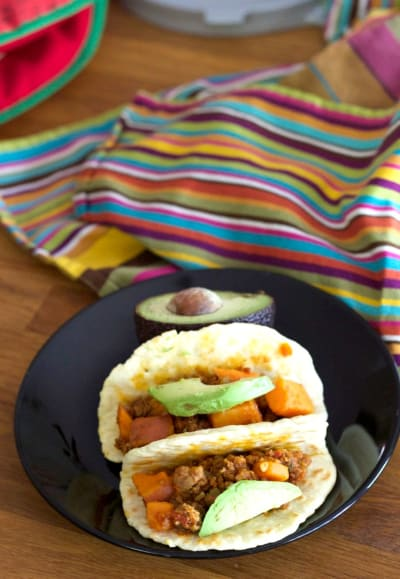Sweet Potato Chorizo Breakfast Tacos Picture