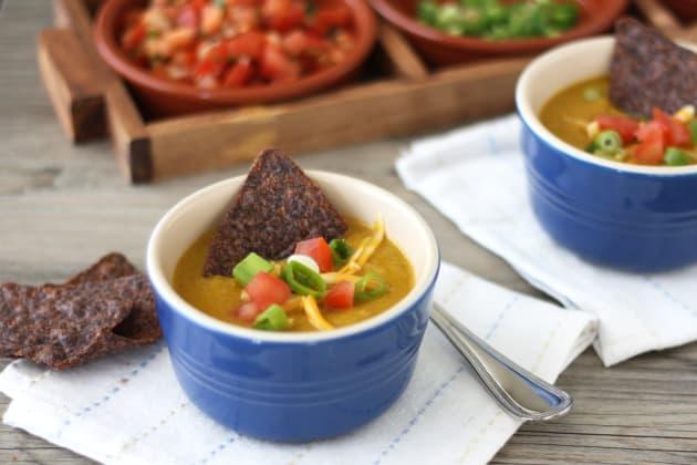Corn Poblano Soup Picture