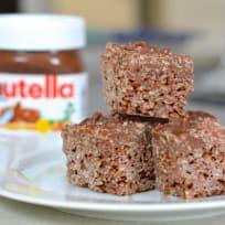 Salted Nutella Crunch Bars Recipe