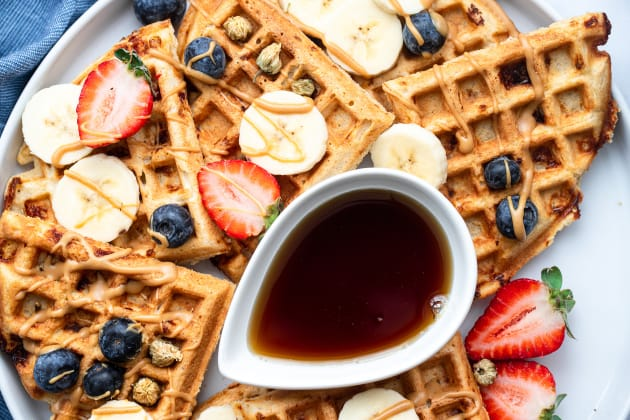 Protein Waffles Photo