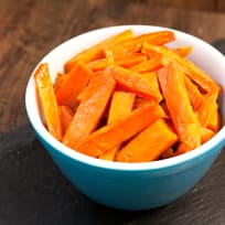 Apple Butter Glazed Sweet Potatoes Recipe