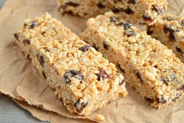 Oatmeal Raisin Cookie Granola Bars Photo