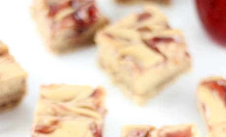 Peanut Butter & Jelly Swirl Cheesecake Bars Picture