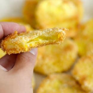 Gluten free crispy squash chips photo