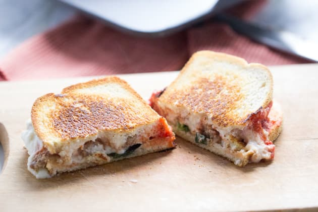 Lasagna Grilled Cheese Photo