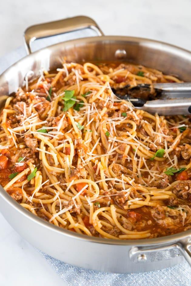One Pot Spaghetti Pic