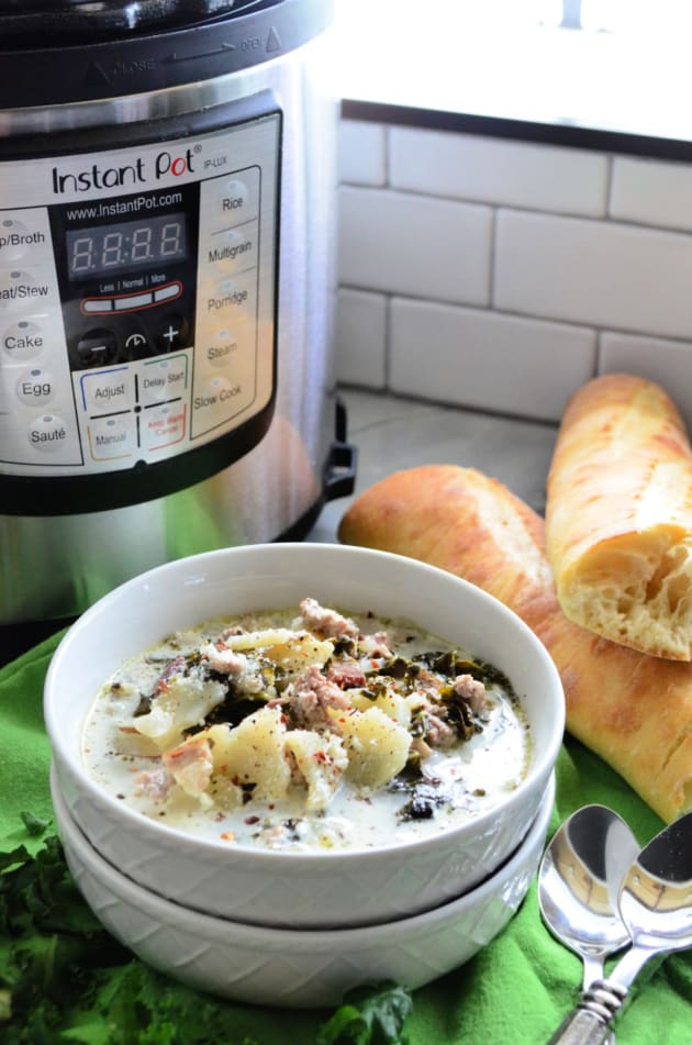 Instant Pot Zuppa Toscana Soup Recipe Food Fanatic