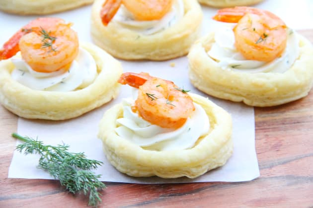 Spicy Shrimp Cream Cheese Tartlets Photo