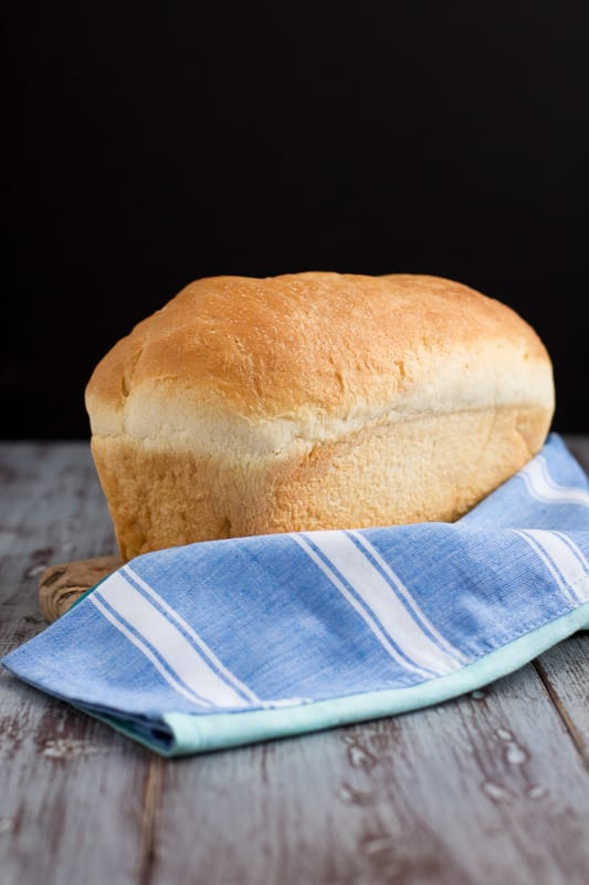 Simple White Bread Image