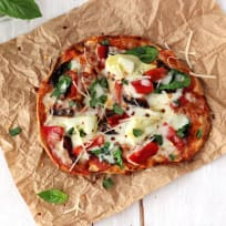 Tortilla Pizzas with Sundried Tomatoes & Spinach Recipe