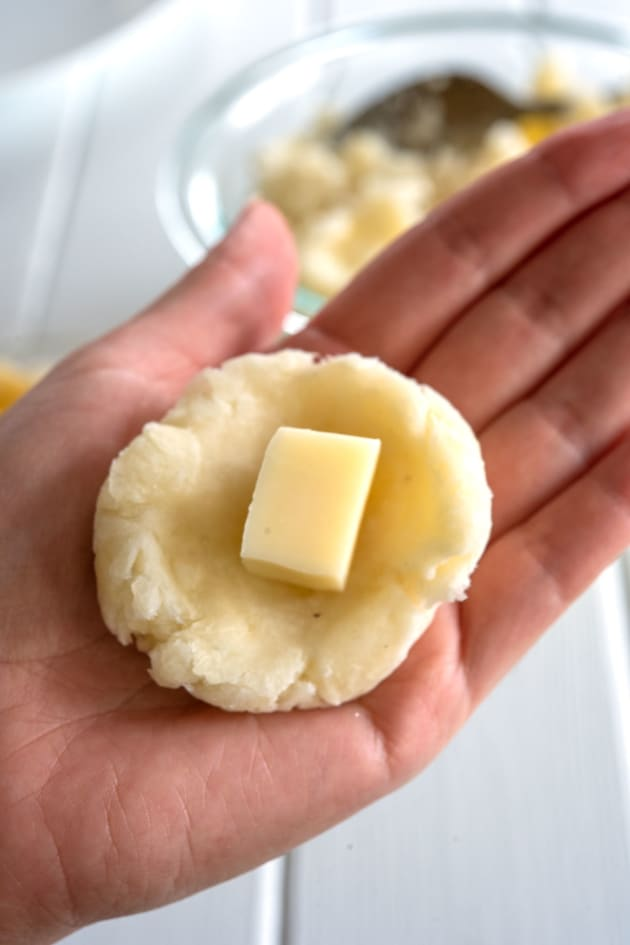 Cheese Stuffed Yuca Picture