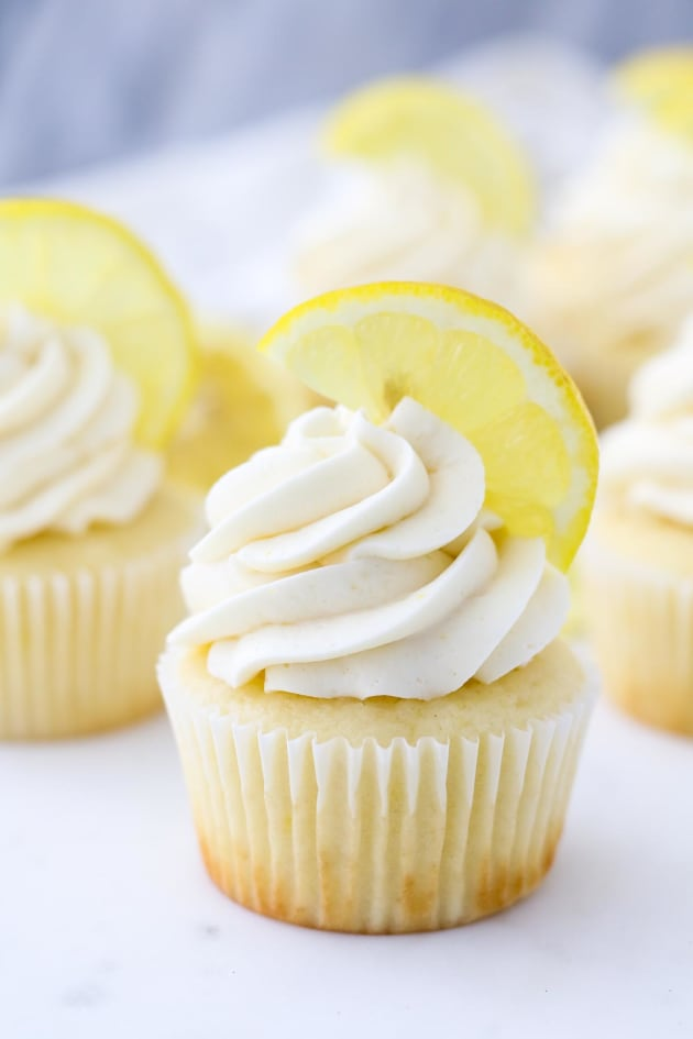 Lemon Cupcake Recipe Image