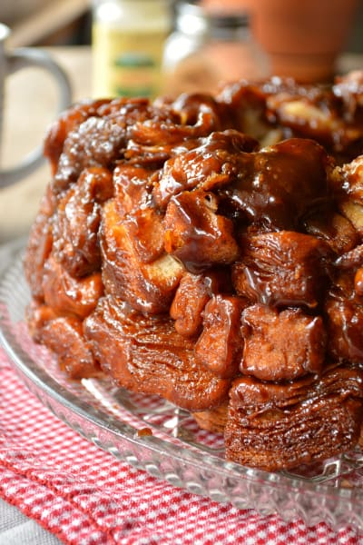 Christmas Morning Monkey Bread Picture