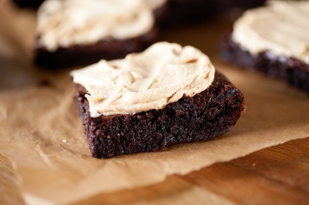 Peanut Butter Frosted Brownies Photo