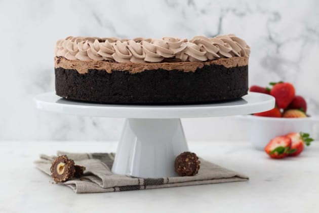 No Bake Nutella Cheesecake Image
